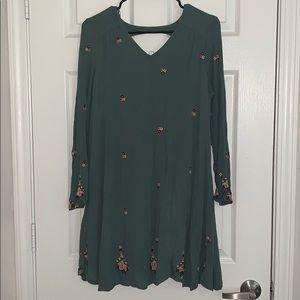 XL 3/4 sleeve dress